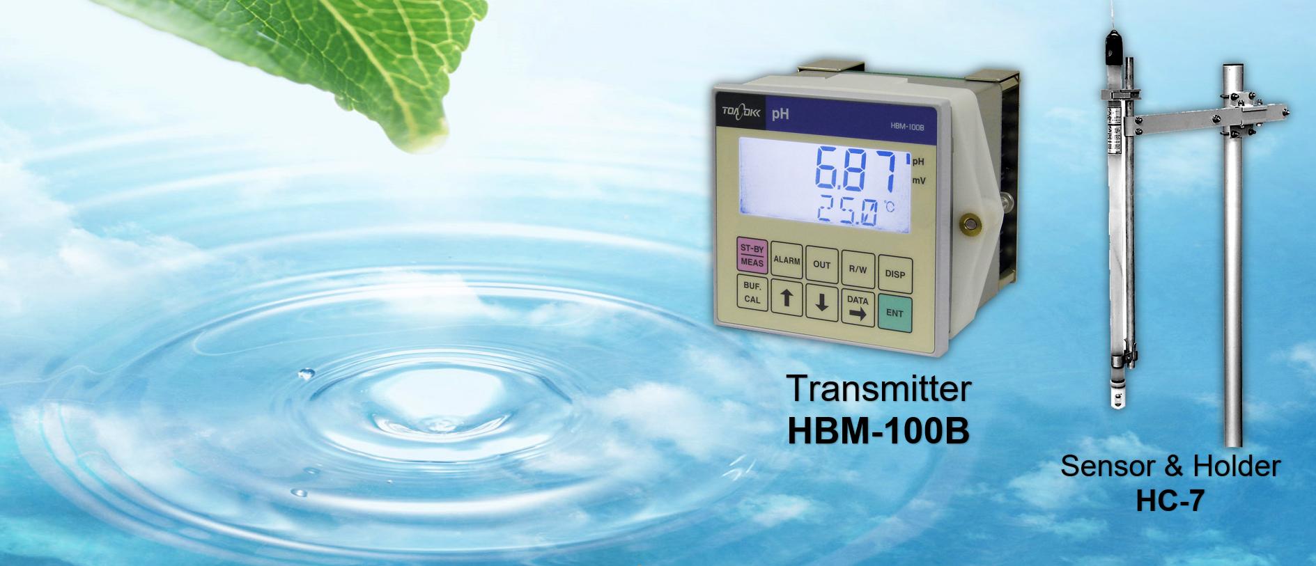 pH online HBM-100B